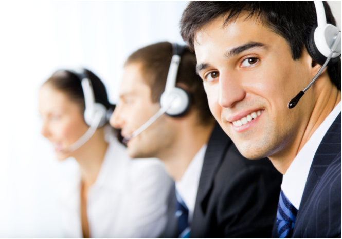 tTeleoperador contact center